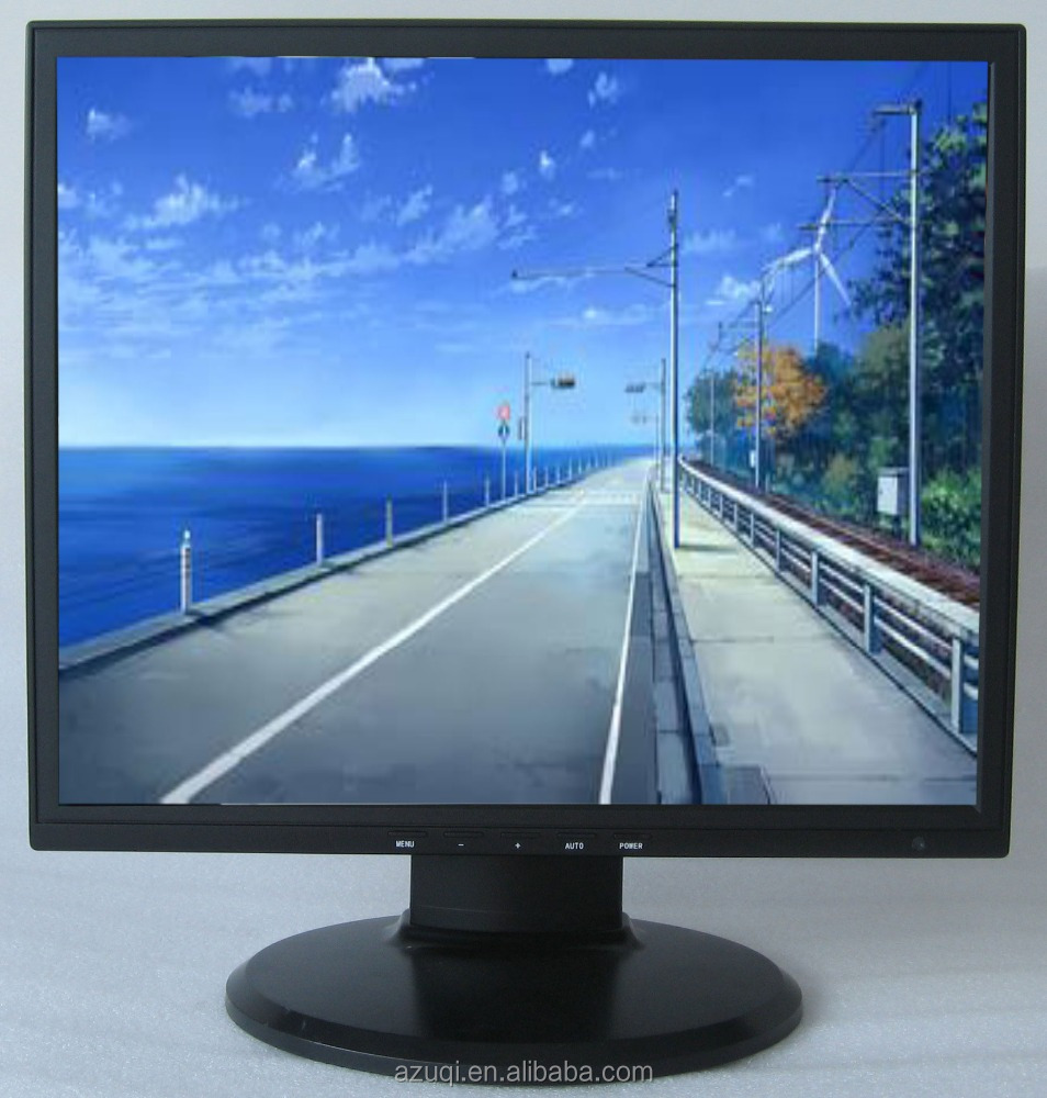 "High energy efficient TFT 17"" LED monitor for cctv control system"
