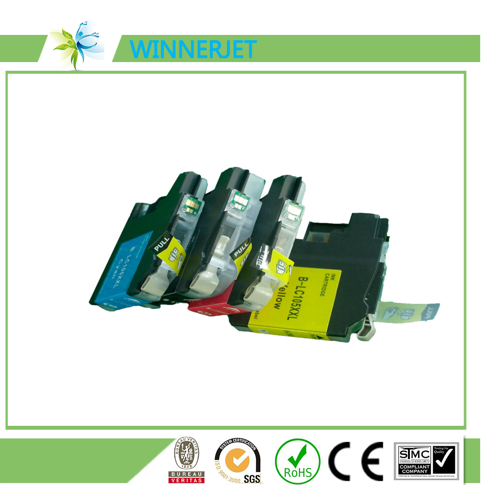 Compatible for Brother ink cartridge LC563 for MFC- J2310/J2510/J3520/J3720