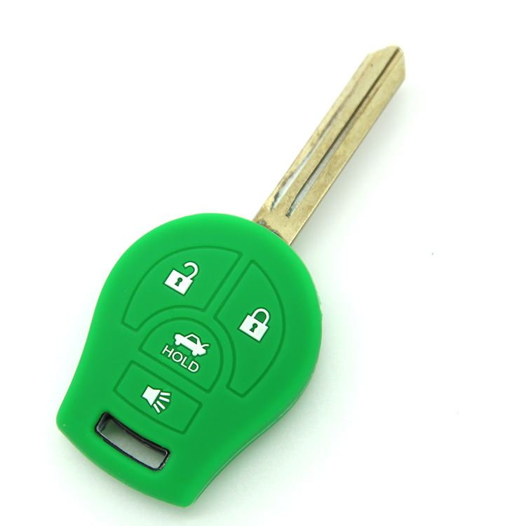 Wholesale china for <strong>n</strong> issan car key cover top quality silicone car key shell key duplication used