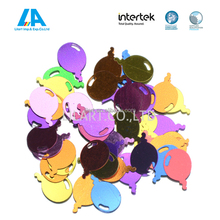 Balloon shape colorful confetti for party decoration