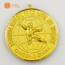 Tai Chi medal antique zinc alloy kongfu medal China/custom design
