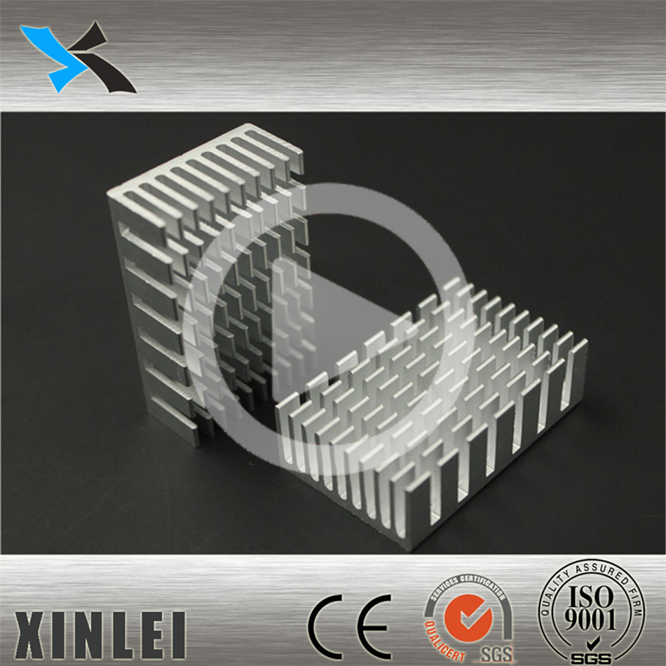 aluminium profile extrusion heatsink 40X25X12MM