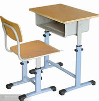 School students study usage desk and chair dimensions design