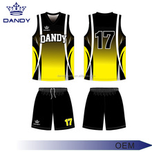Top quality free design, free print sample dry fit custom sublimation basketball jersey
