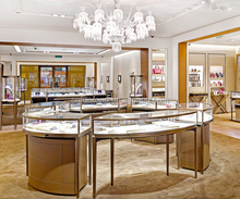 retail shopping mall used jewellery display showcase for jewelry shop kiosk