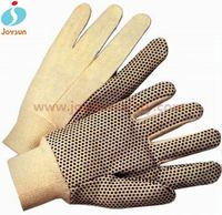 China supplier cotton canvas gp pro gloves