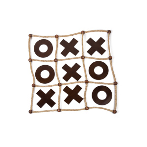 custom game pieces Tic Tac Toe Wooden Game