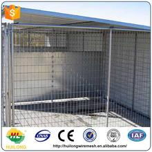 2016 new large outdoor beautiful modular dog kennel ISO certificte