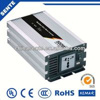 High quality 500w solar power automobile power inverter 12v/24v/48v/96vdc to 110v/220v/230v/240v