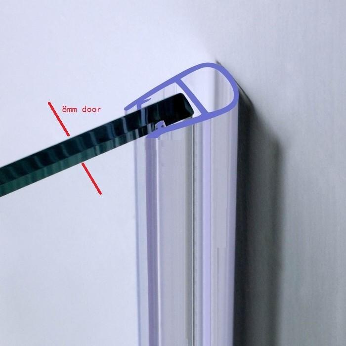 Glass Shower Door Plastic Seal Strip