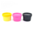Luxury Packaging facial mask black pink yellow 50ml 100ml 150ml 200ml plastic jar