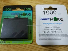 HOPO 1000mah Universal Portable Mobile Power Bank Charger Manufacturer supply