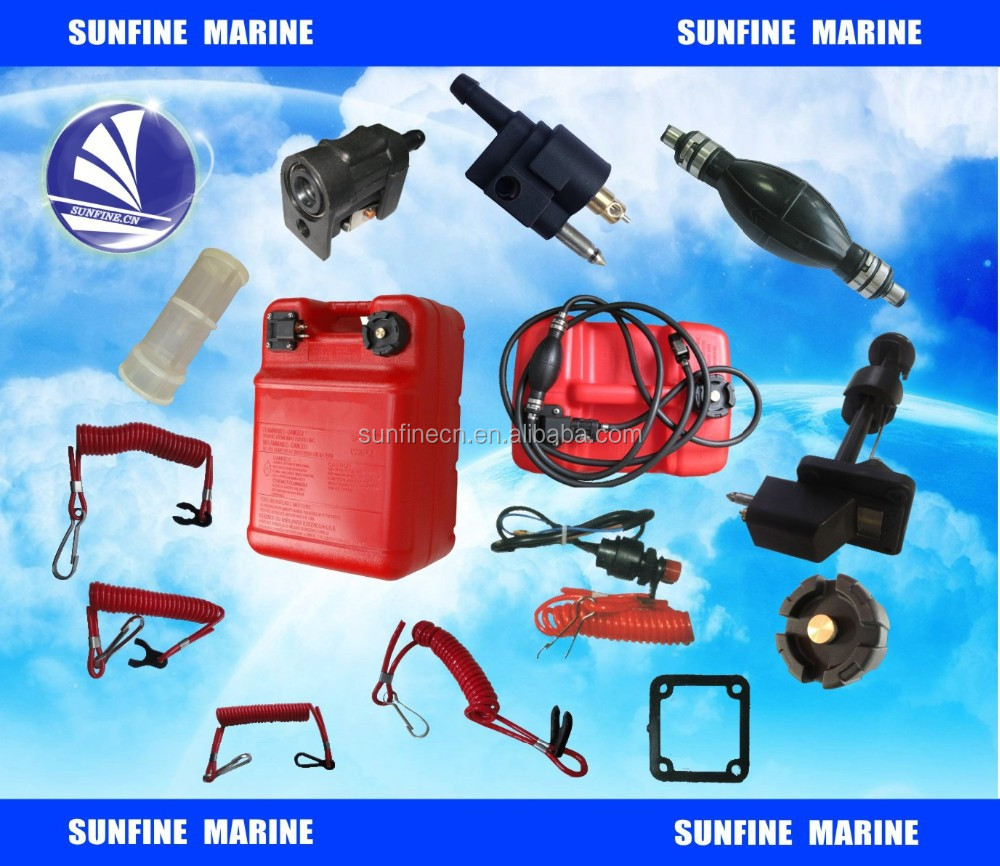 Marine boat 12L/24L fuel tank with accessories fuel line, fuel, bulb safety switch