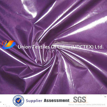 PU Coated Nylon Fabric (W/R W/P Silver Milky and PVC)