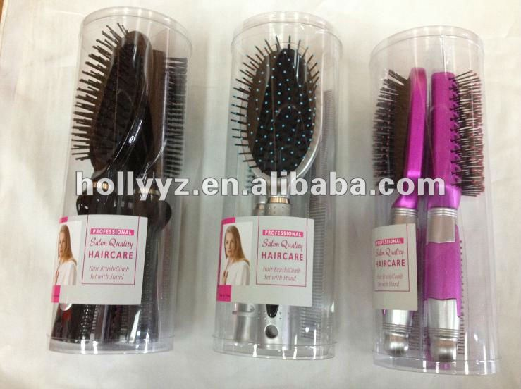 2013 fashional design different handles folding brush comb