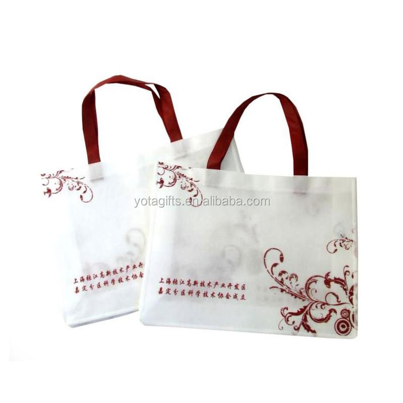 Custom made nonwoven cloth bag