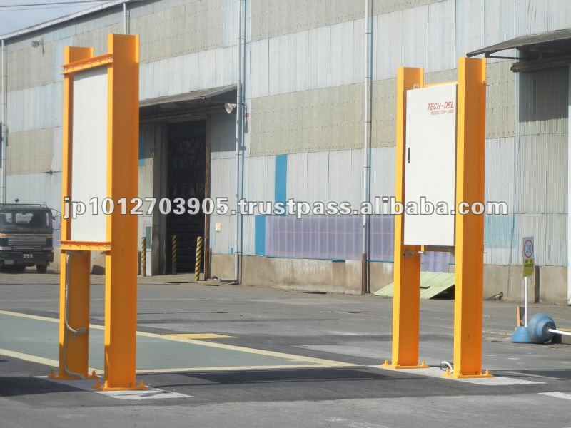safety gate Radiation Detector Japan quality for Vehicles pass-through model