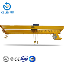 European Model Double Girder Bridge Crane, Double Hook For Crane