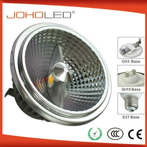 high quality interior light ar111 led gu10 spotlight/ar111 gu10 led 12w dimmable