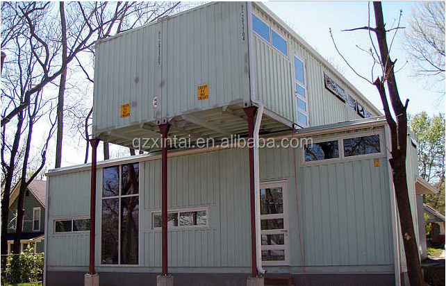 Looks luxurious and durable green house container home for store / container houses