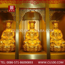 Custom best design hot classic antique hindu gods metal statues