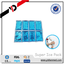 Gel super ice cooling bag pack physical therapy