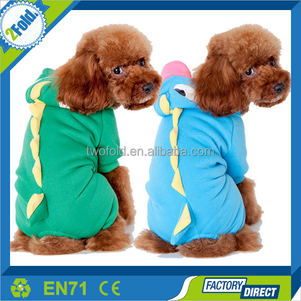 Dinosaur Green Pet Clothes Dog Apparel
