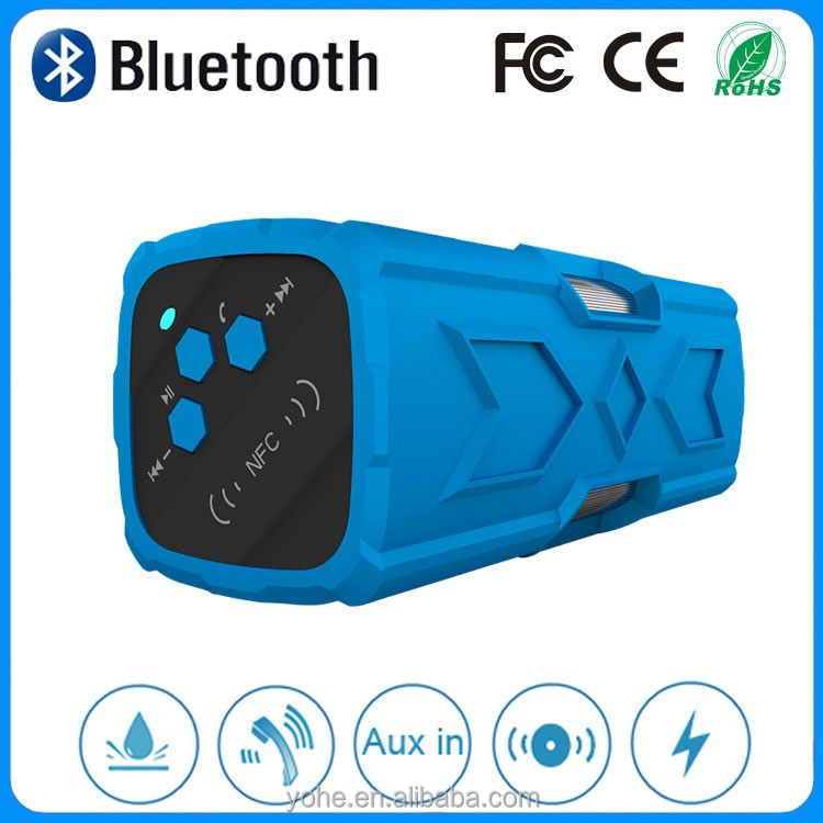 Professional subwoofer speaker mini portable bluetooth speaker with 3600mah rechargeable battery