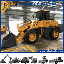 Compact small wheel loader , 2T front end loaders with cheap price