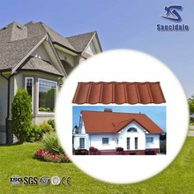 stone chip coated roofing tile made in China