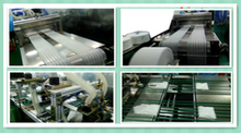made in China medical gauze compress&swabs folding machine