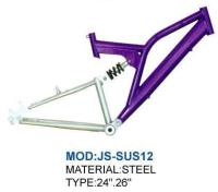 "China 24"" 26"" customized bicycle steel frame/ steel/ raw finished"