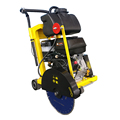 Gewilson 400mm diamond blade asphalt concrete cutter machine by Honda GX270 engine