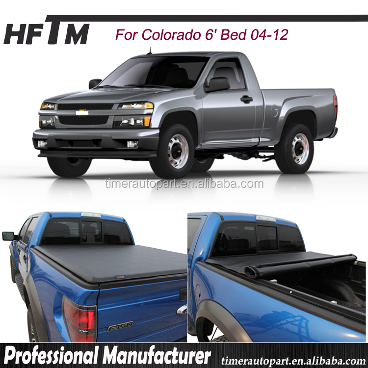 for Colorado 04-12 bed cover quick clamp design hot USA tonneau cover