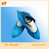 2016 Medical Disposable CPE Shoe Cover/Overshoes