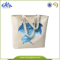 eco handmade cotton bags wholesale with printing shopping bag canvas tote bag cotton canvas