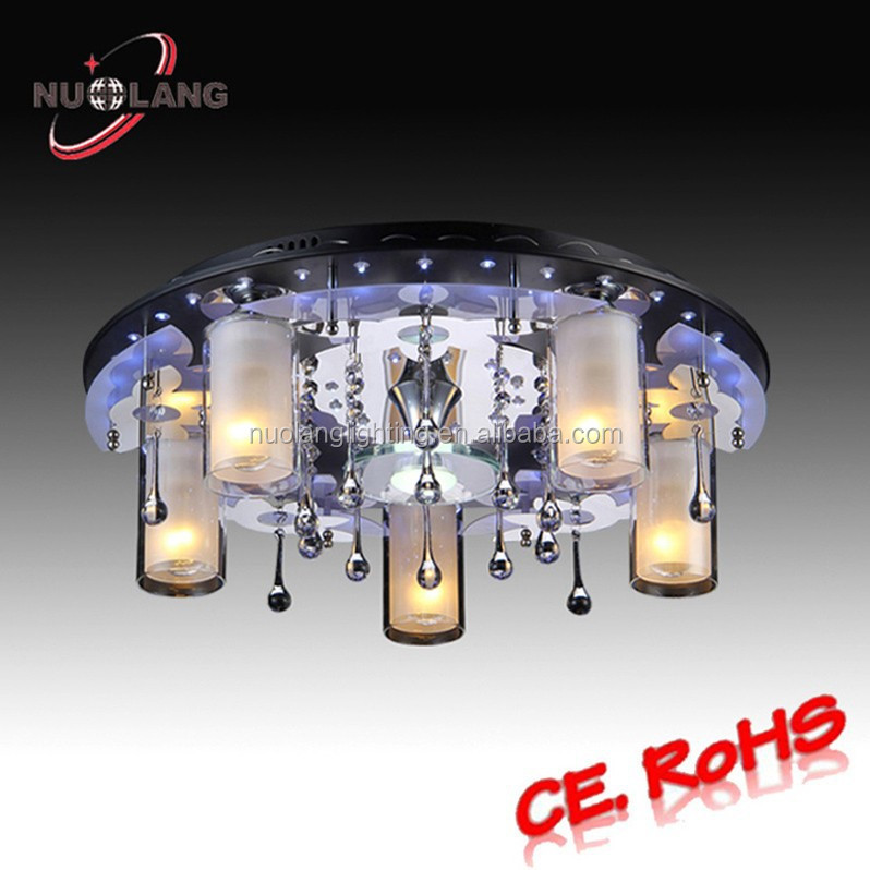 Alibaba Modern Ceiling Lights : Modern crystal lighting fixture led ceiling lamp with mp