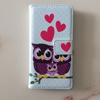2017 Hotsales Flower Leather Wallet phone case for Samsung A5 /A7 /A9 with card slot stand