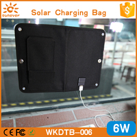new products 2016 folding travel bags solar/window mounted solar charger/solar power charger bag for cell phone