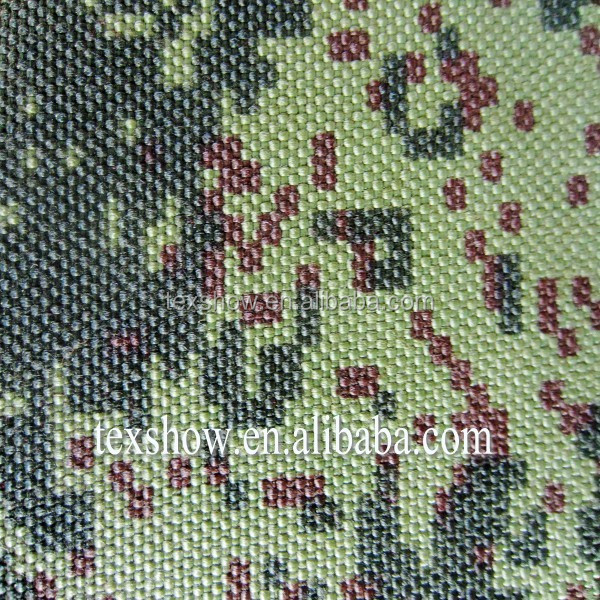 1000D Camouflage Fabric for military uniform