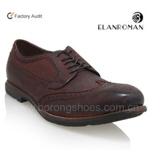 New style leather mens brogues shoes
