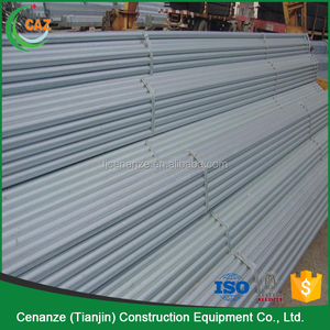 Different Specifications Galvanized Steel Scaffold Material Scaffolding Pipe Unit Weight for Sale
