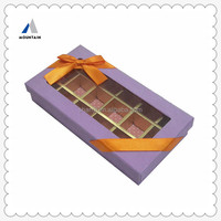 Mountain Food Grade Paper Chocolate Box