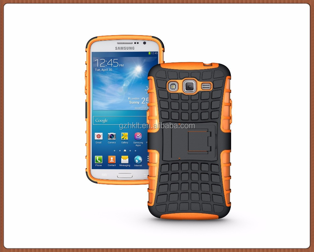 For Samsung For Galaxy Grand 2 G7100/G7106 Hybrid Kickstand Rugged Armor Hard PC+TPU With Stand Function Cover Cases Phone case