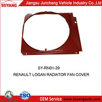 RENAULT LOGAN RADIATOR FAN COVER AUTO METAL CAR PARTS FOR REPLACEMENT