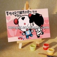 MA004 diy oil painting by numbers menglei