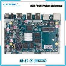 Computer Android Tv Box S6 Car Mainboard PS3 Gaming Smart Watch Tablet Pc Atx Arm Server Mini-Itx Motherboard for 4 Lan Sata