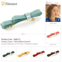 Mills Ribbon barrette (hairpin, hair accessory, hair accessories, RenaChris, Rena Chris, k pop, k-pop)