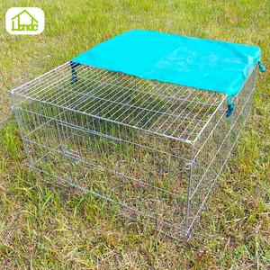 Eco-friendly high quality steel custom rabbit cage&hutch for sale
