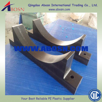 High quality HDPE pipe support block/HDPE and PVC pipe gasket